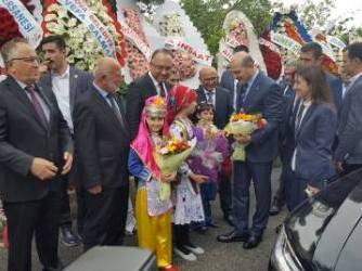 Yeni hizmet binasý törenle hizmete girdi