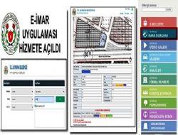 E-ÝMAR uygulamasý hizmete girdi