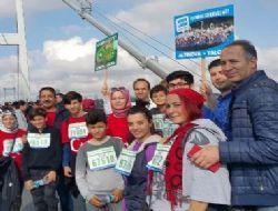 Altýnova, Vodafone Ýstanbul Maratonu'ndaydý