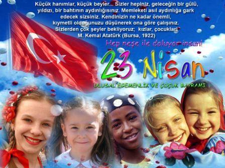 YALOVA dan 23 Nisan kutlama mesajlar�