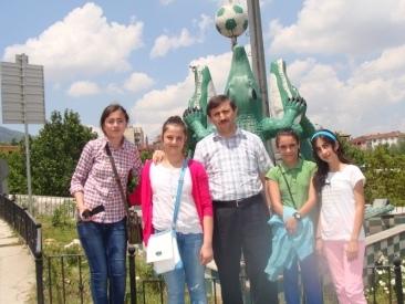 Gaziabdurrahman Ortaokulu Öðrencileri Bursa da