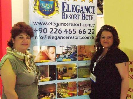 Elegance Resort Hotel Dubai Arap Turizm Fuarýnda