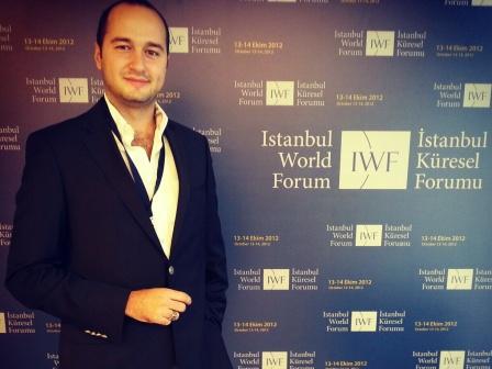 Furkan KAYA, Küresel Foruma katýldý