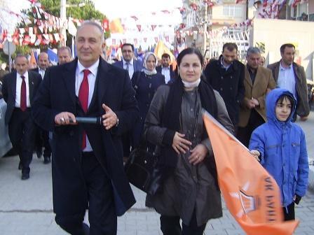�iftlikk�yl� AKP aday� S�LPAGAR a sahip ��kt�