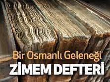 Osmanlý nýn en güzel geleneklerinden birisi