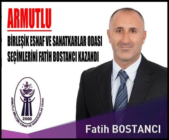 YENÝ BAÞKAN FATÝH BOSTANCI