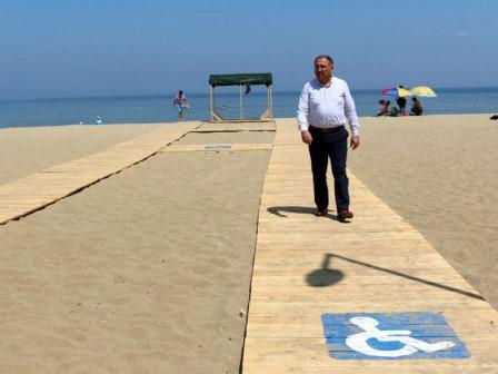 Engellilere �zel Plajda Sona Do�ru