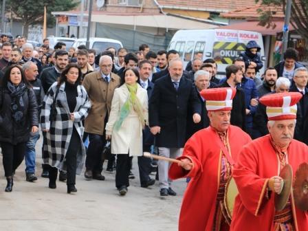 Çiftlikköy de Osmanlý Haftasý kutlandý